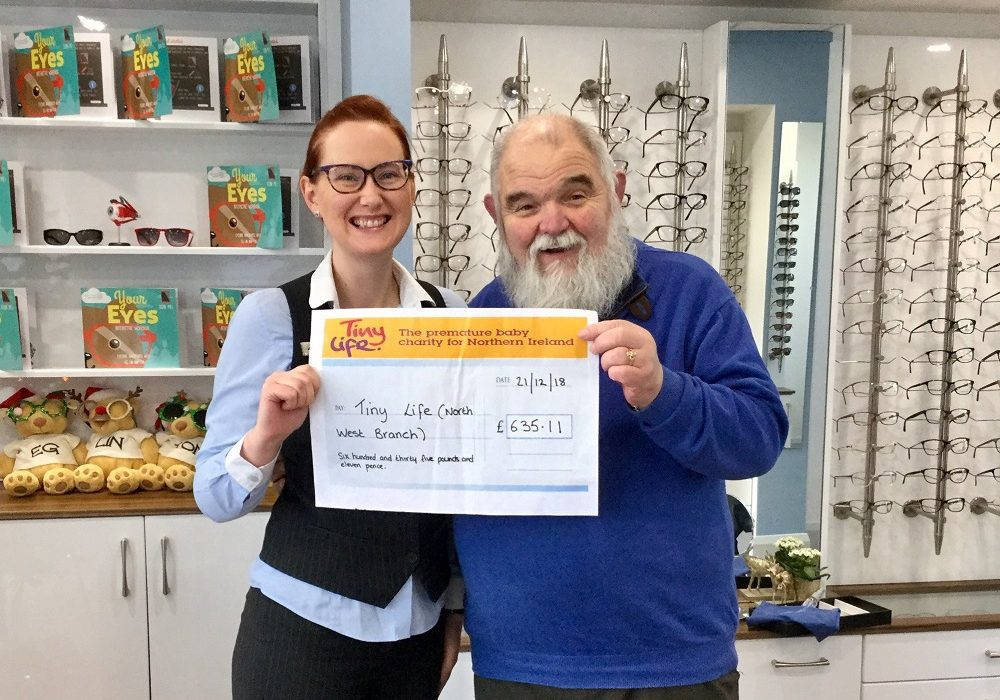 07.01.19 Cheque Presentation for Tiny Life (Dec Collections)
