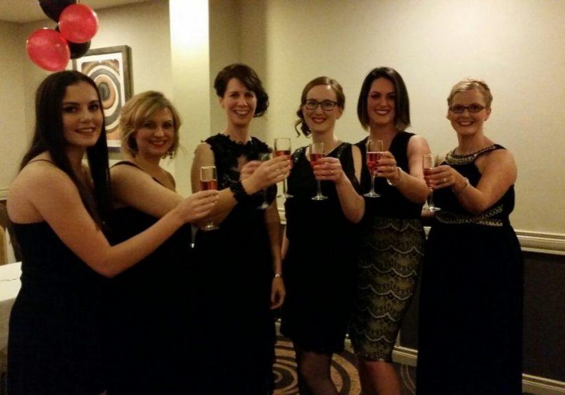 Girls-toast